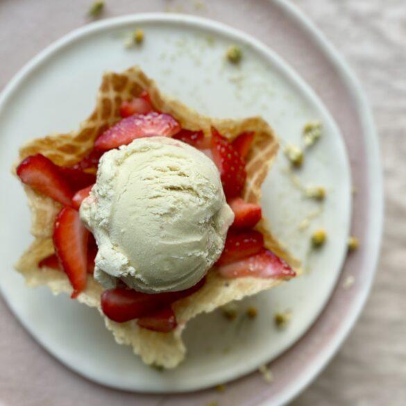 Kamille-Honig-Eis