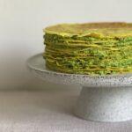Kurkuma-Erbse-Kuchen