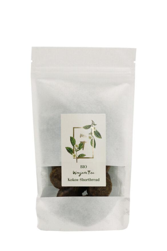 Mrs T - Woojeon Tee Kokos-Shortbread, 100 g im Standbodenbeutel