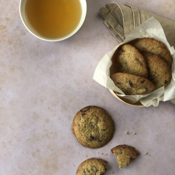 Roggen Cookies